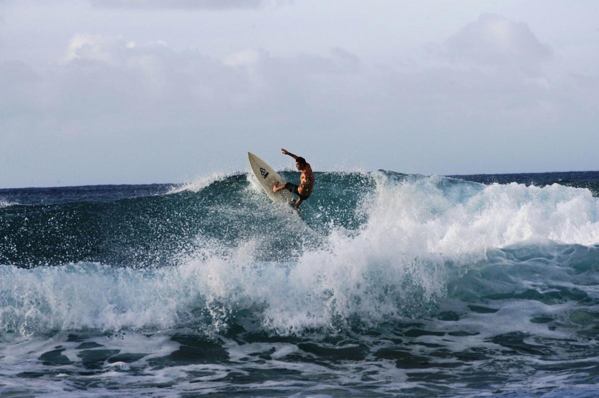 Drew Surfing